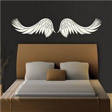 Картина на холсте по фото Модульные картины Печать портретов на холсте Трафарет Крылья ангела