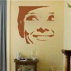 Картина на холсте по фото Модульные картины Печать портретов на холсте Трафарет Портрет Одри Хепберн