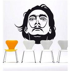 Картина на холсте по фото Модульные картины Печать портретов на холсте Трафарет Портрет Сальвадора Дали