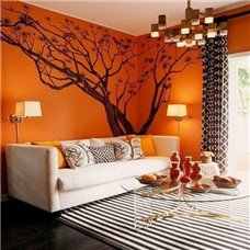 Картина на холсте по фото Модульные картины Печать портретов на холсте Трафарет Азиатское дерево 2