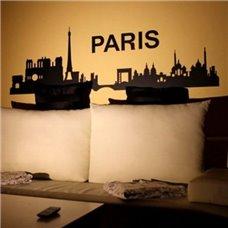 Картина на холсте по фото Модульные картины Печать портретов на холсте Трафарет Париж
