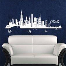 Картина на холсте по фото Модульные картины Печать портретов на холсте Трафарет Чикаго