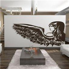 Картина на холсте по фото Модульные картины Печать портретов на холсте Трафарет Ангел