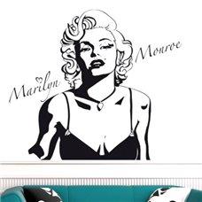 Картина на холсте по фото Модульные картины Печать портретов на холсте Трафарет Мэрилин Монро III