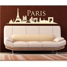 Картина на холсте по фото Модульные картины Печать портретов на холсте Трафарет Панорамный вид Парижа