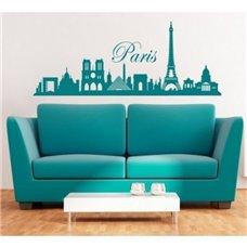 Картина на холсте по фото Модульные картины Печать портретов на холсте Трафарет Панорама Парижа