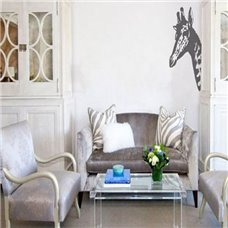 Картина на холсте по фото Модульные картины Печать портретов на холсте Трафарет Голова жирафа