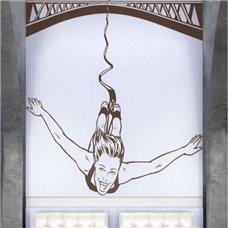 Картина на холсте по фото Модульные картины Печать портретов на холсте Трафарет Банги джампинг