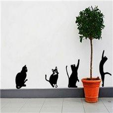 Картина на холсте по фото Модульные картины Печать портретов на холсте Трафарет Набор котят
