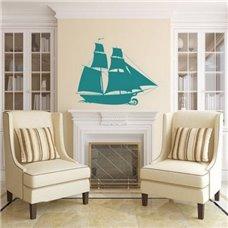 Картина на холсте по фото Модульные картины Печать портретов на холсте Трафарет Корабль Алые паруса