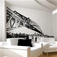 Картина на холсте по фото Модульные картины Печать портретов на холсте Трафарет Мост США