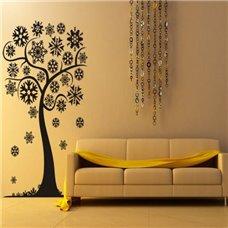 Картина на холсте по фото Модульные картины Печать портретов на холсте Трафарет Снежное дерево