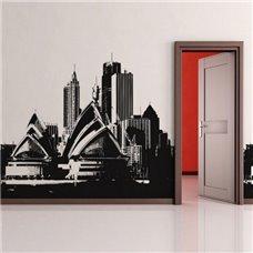 Картина на холсте по фото Модульные картины Печать портретов на холсте Трафарет Театр оперы в Сиднее