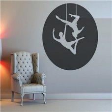 Картина на холсте по фото Модульные картины Печать портретов на холсте Трафарет Воздушные гимнастки