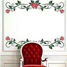 Картина на холсте по фото Модульные картины Печать портретов на холсте Трафарет Орнамент чайной розы