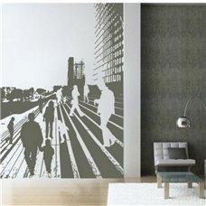 Картина на холсте по фото Модульные картины Печать портретов на холсте Трафарет Городские ступени