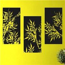 Картина на холсте по фото Модульные картины Печать портретов на холсте Трафарет Орнамент бамбука