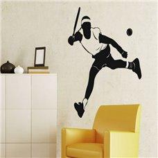 Картина на холсте по фото Модульные картины Печать портретов на холсте Трафарет Теннисист