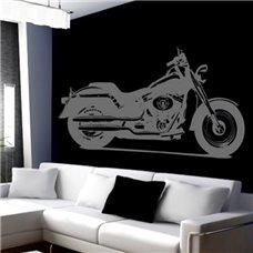 Картина на холсте по фото Модульные картины Печать портретов на холсте Трафарет Мотоцикл