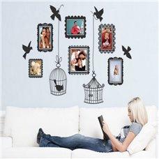 Картина на холсте по фото Модульные картины Печать портретов на холсте Трафарет Фоторамки с птицами