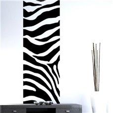 Картина на холсте по фото Модульные картины Печать портретов на холсте Трафарет Бордюр зебры