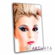Картина на холсте по фото Модульные картины Печать портретов на холсте Картина в салон красоты