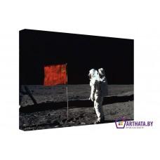 Картина на холсте по фото Модульные картины Печать портретов на холсте Космический патриотизм