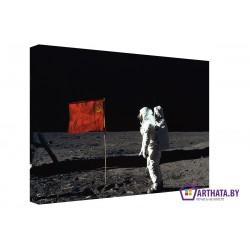 Космический патриотизм - Модульная картины, Репродукции, Декоративные панно, Декор стен