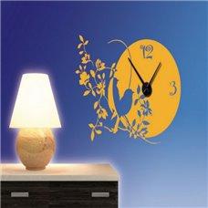 Картина на холсте по фото Модульные картины Печать портретов на холсте Трафарет Часы Весенние птицы