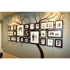 Картина на холсте по фото Модульные картины Печать портретов на холсте Трафарет Фамильное древо
