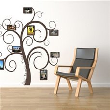 Картина на холсте по фото Модульные картины Печать портретов на холсте Трафарет Наше семейное дерево фоторамки