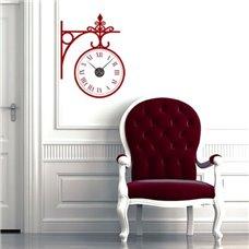 Картина на холсте по фото Модульные картины Печать портретов на холсте Трафарет Бульварные часы II