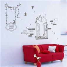 Картина на холсте по фото Модульные картины Печать портретов на холсте Трафарет Милый дом
