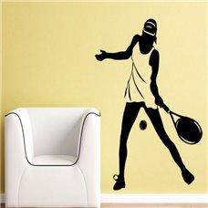 Картина на холсте по фото Модульные картины Печать портретов на холсте Трафарет Теннисистка