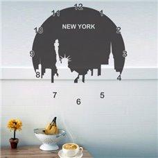 Картина на холсте по фото Модульные картины Печать портретов на холсте Трафарет Часы Нью Йорк