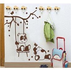 Картина на холсте по фото Модульные картины Печать портретов на холсте Трафарет Милые панды