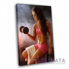 Картина в спортзал