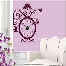 Картина на холсте по фото Модульные картины Печать портретов на холсте Трафарет Бульварные часы
