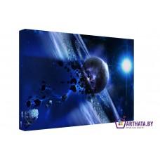 Картина на холсте по фото Модульные картины Печать портретов на холсте Нейтронная звезда