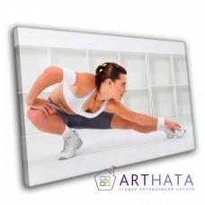 Картина на холсте по фото Модульные картины Печать портретов на холсте Картина в спортзал