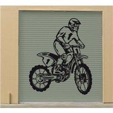Картина на холсте по фото Модульные картины Печать портретов на холсте Трафарет Мотоциклист