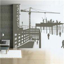 Картина на холсте по фото Модульные картины Печать портретов на холсте Трафарет Новые постройки