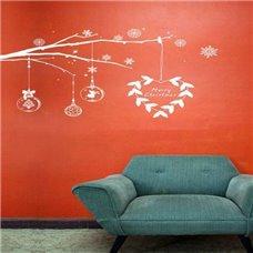 Картина на холсте по фото Модульные картины Печать портретов на холсте Трафарет Рождественская ветвь