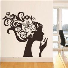 Картина на холсте по фото Модульные картины Печать портретов на холсте Трафарет Дева цветов