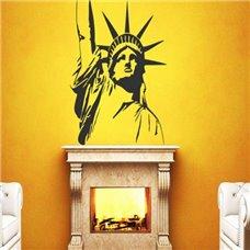 Картина на холсте по фото Модульные картины Печать портретов на холсте Трафарет Статуя свободы