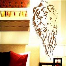 Картина на холсте по фото Модульные картины Печать портретов на холсте Трафарет Царь зверей