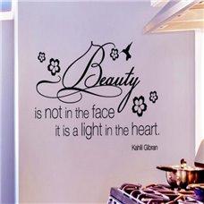 Картина на холсте по фото Модульные картины Печать портретов на холсте Трафарет Красота не в лице, красота — это свет в сердце