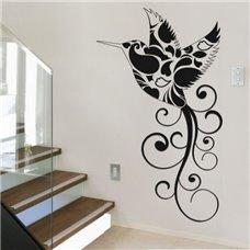 Картина на холсте по фото Модульные картины Печать портретов на холсте Трафарет Сказочная колибри