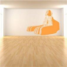 Картина на холсте по фото Модульные картины Печать портретов на холсте Трафарет Большой Сфинкс(Египет)
