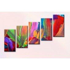Картина на холсте по фото Модульные картины Печать портретов на холсте Мазки краски